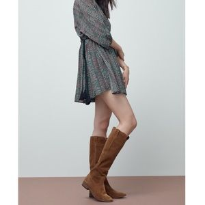 🆕 Frye Cognac Suede Tall Boots